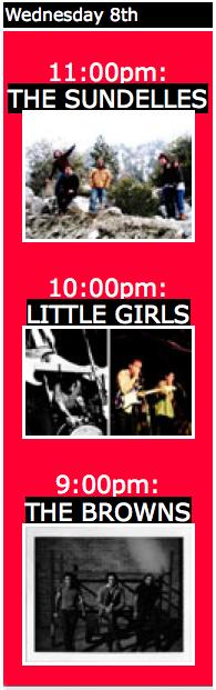 Browns / Little Girls / The Sundelles @ Cake Shop