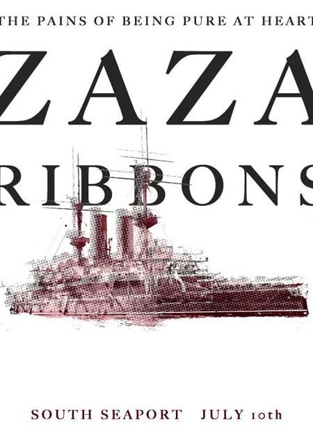 tpobpah zaza ribbons poster