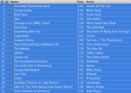 September 2008 Mix
