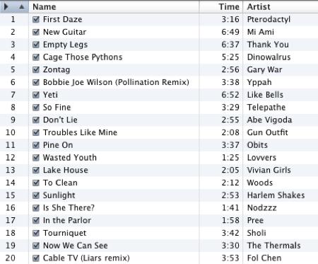 February 2009 Mix