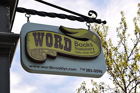 WORD bookstore in Greenpoint, Brooklyn