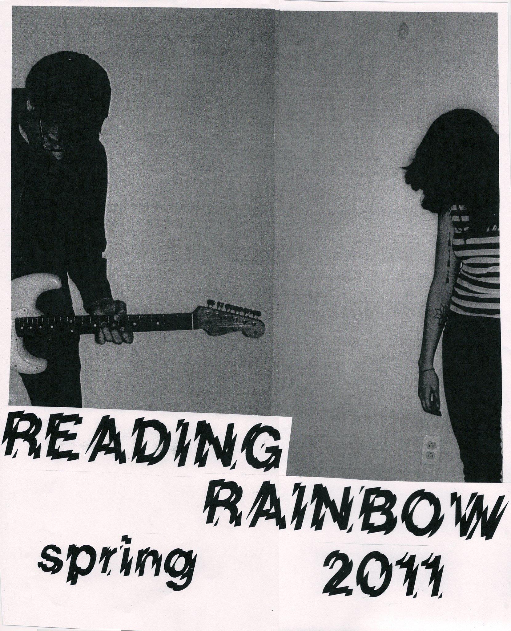 Reading Rainbow Tour Poster Spring 2011