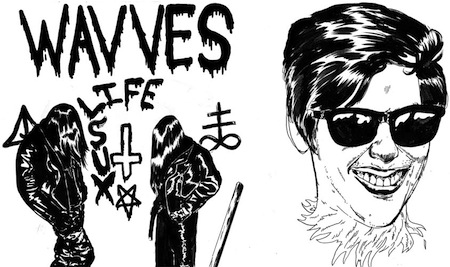 Life Sux EP by Wavves