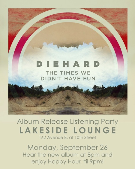 Diehard CD Release Flyer