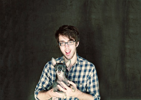 Dylan Baldi of Cloud Nothings by Angel Ceballos