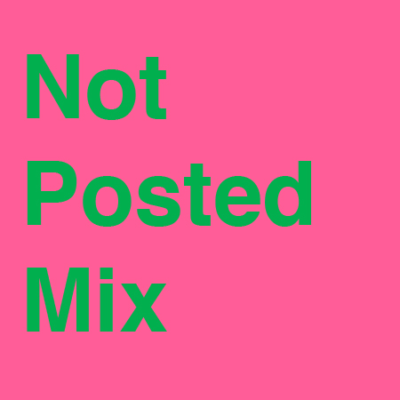 NOT POSTED Mix