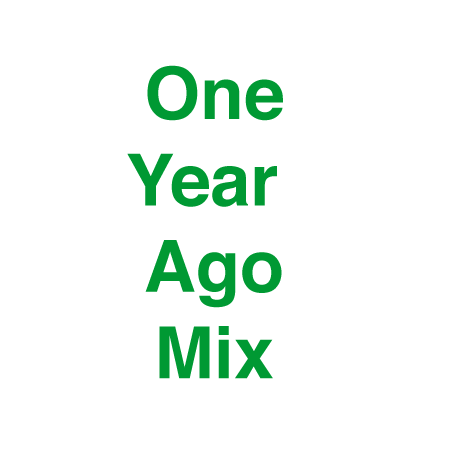 One Year Ago Mix