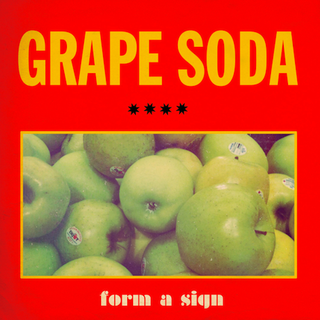 Form a Sign by Grape Soda