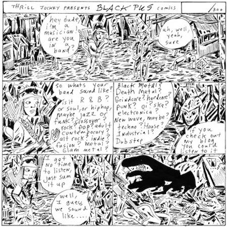 Black Pus comic