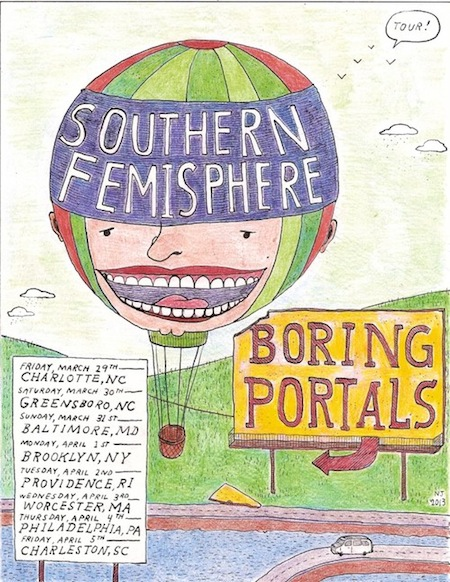 Awesome Southern Femisphere/Boring Portals Flyer