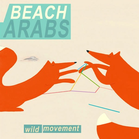wild movement by beach arabs