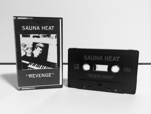 Revenge Cassette from Sauna Heat available on Soft Science Recordings