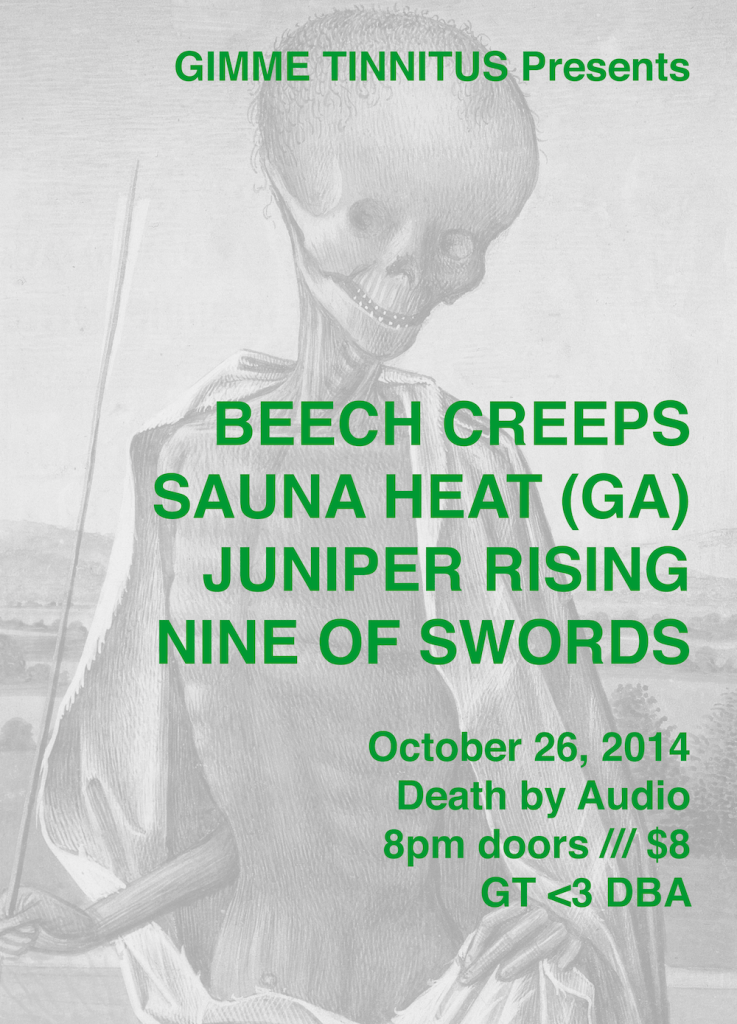 Death by Audio 10/26/14