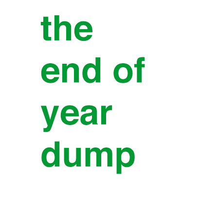 audio streams :: The End of Year Dump 2014