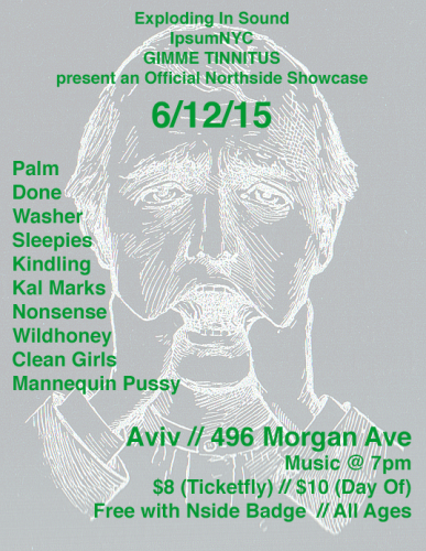 show :: 6/12/15 @ Aviv > The Exploding In Sound + IpsumNYC + GIMME TINNITUS Northside Showcase
