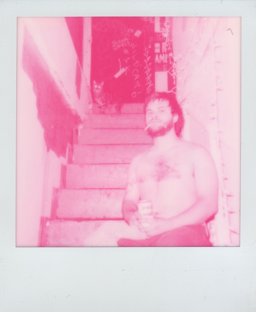 Pink Stove Aviv by Bob Reich