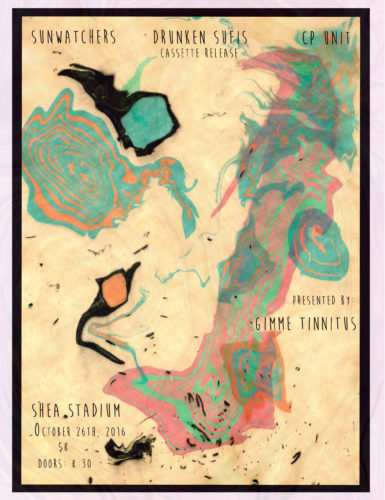 show :: 10/26/16 @ Shea Stadium > Drunken Sufis' Cassette Release Party!