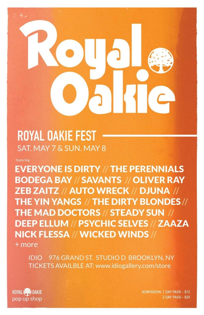 royal oakie fest flyer