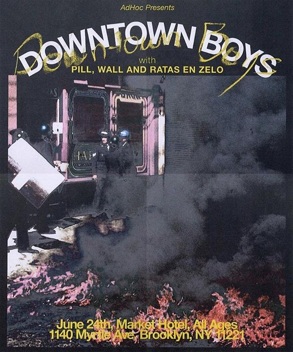 downtown boys flyer
