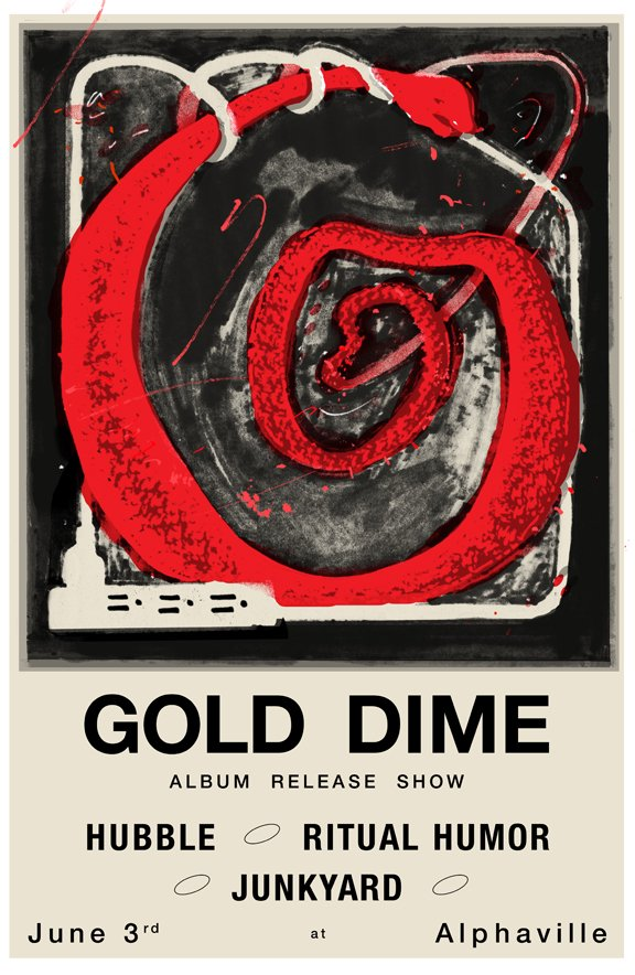 gold dime flier