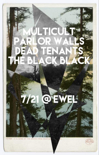 show :: 7/21/18 @ EWEL > Multicult + Parlor Walls + Dead Tenants + The Black Black