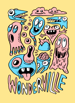 stream these :: Wonderville + Cheekface + Rube + Preening + Glued + Misery Index + Venom Prison + Obsidian + The Lasso + Black Polygons + SB The Moor + Drahla + Monteagle + Optic Sink