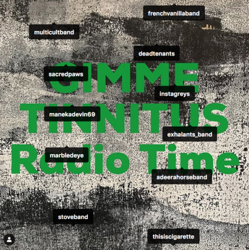 podcast :: GIMME TINNITUS Radio Time > 6/30/19