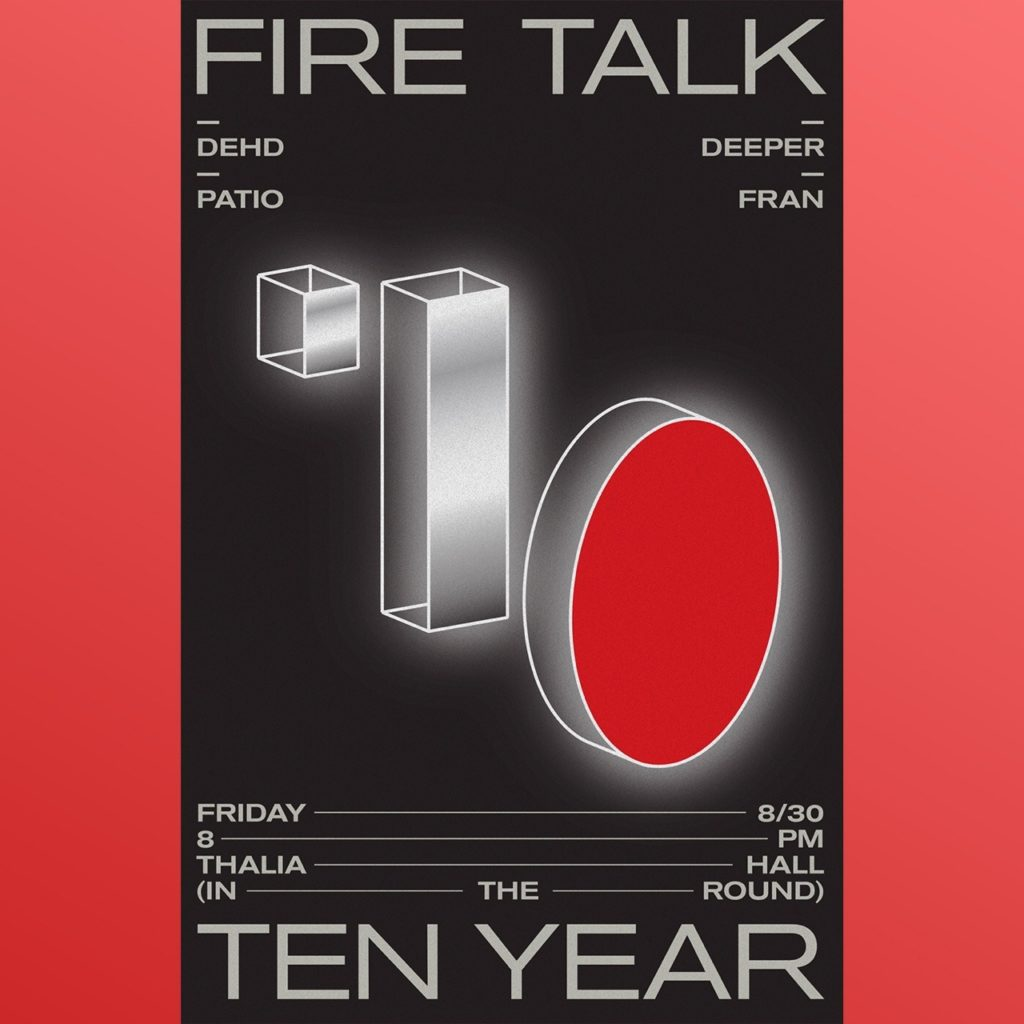 fire talk 10 year show chicago