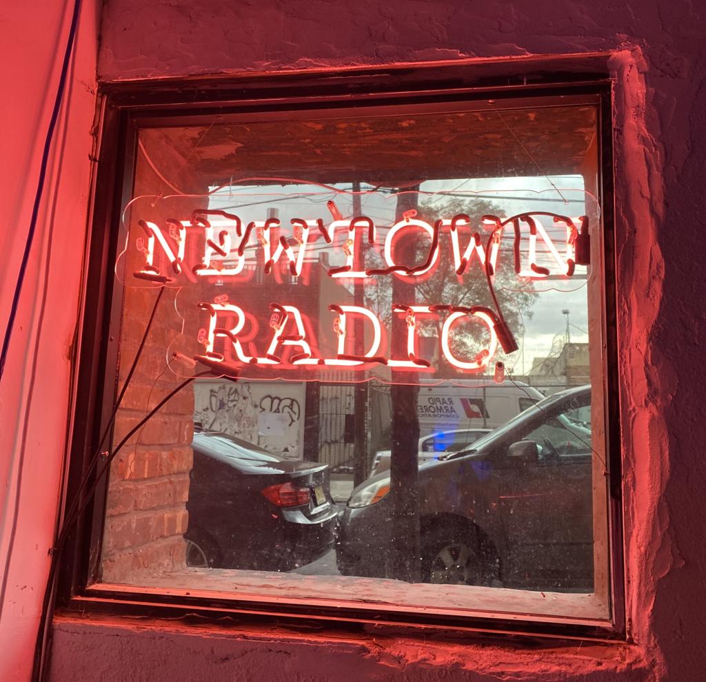 Newtown Radio Neon Flip